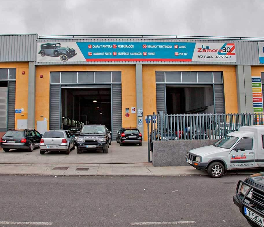 fachada del taller La zamora 30