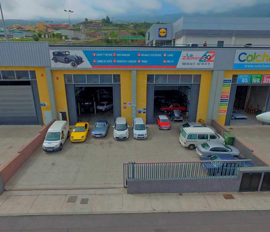fotografia aerea de taller La zamora 30