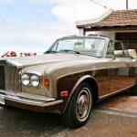 Frontal de un Rolls royce corniche en venta por la zamora 30